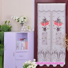Classical Lucky Peach Korean High Grade Knitting Curtain Romantic Room Taiwan Feng Shui Decoration