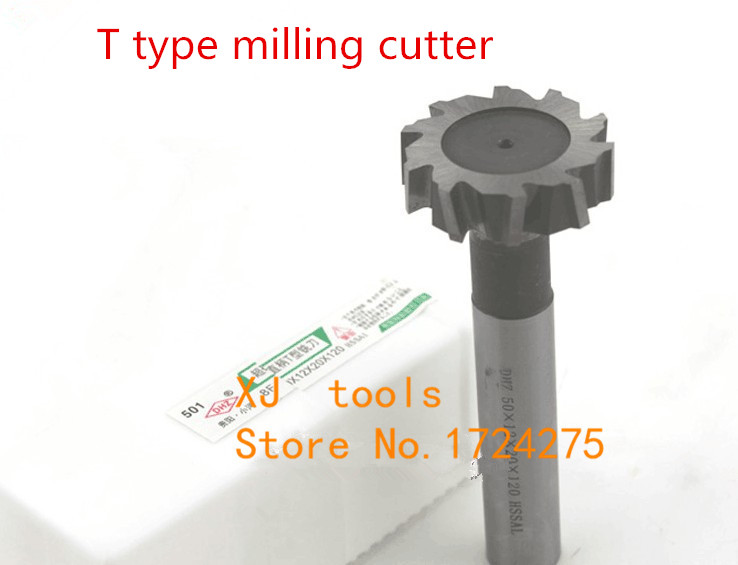 IRON ROOT 1P 50mm X 60° Degree HSS Dovetail Cutter Milling High Speed Steel Tool