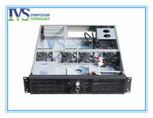 2U computer case for ATX M/B with 3 horizontal full-height half-length PCI PCIe expanional card slots