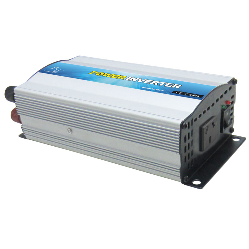 small size 300W 24V to 240V modified sine wave inverter with bulit-in charger 5A for home application<br>