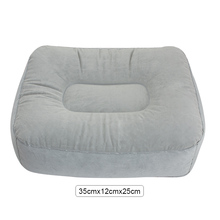 Home Inflatable Soft Foot Rest Portable Pad Footrest Pillow Cushion Relax 680192(China)