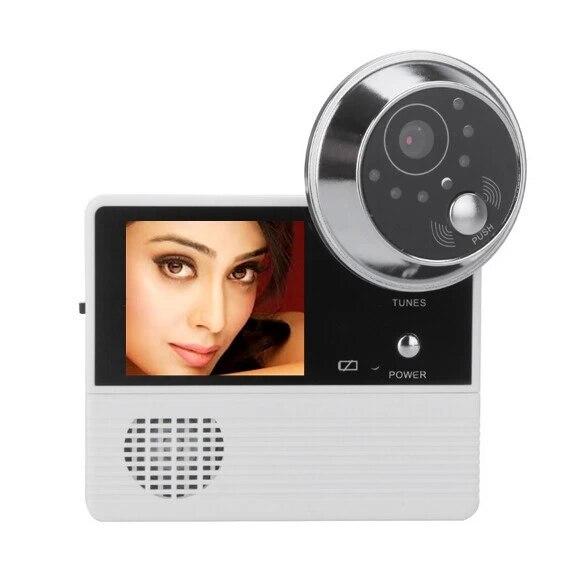 120 Degree Video Door Phone Peephole Viewer<br>