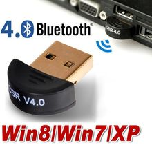 Mini USB Bluetooth V4.0 Dongle Dual Mode Wireless CSR V 4.0 Receiver Adapter + Voice Data For PC Printer Phone