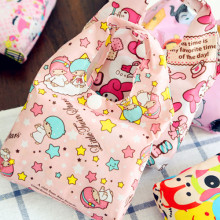 New Kitty Cat Melody Cartoon Animal Storage Bag.Shoulder Bags.Ladies Hand Bag.Cute Reusable Lunch Supermarket Eco Shopping Bag