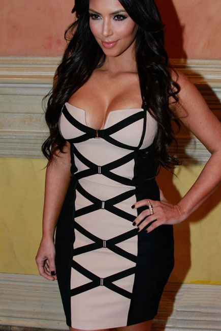 Sexy-Bodycon-Black-and-Beige-Corset-Bandage-Dress-LC28059-4805