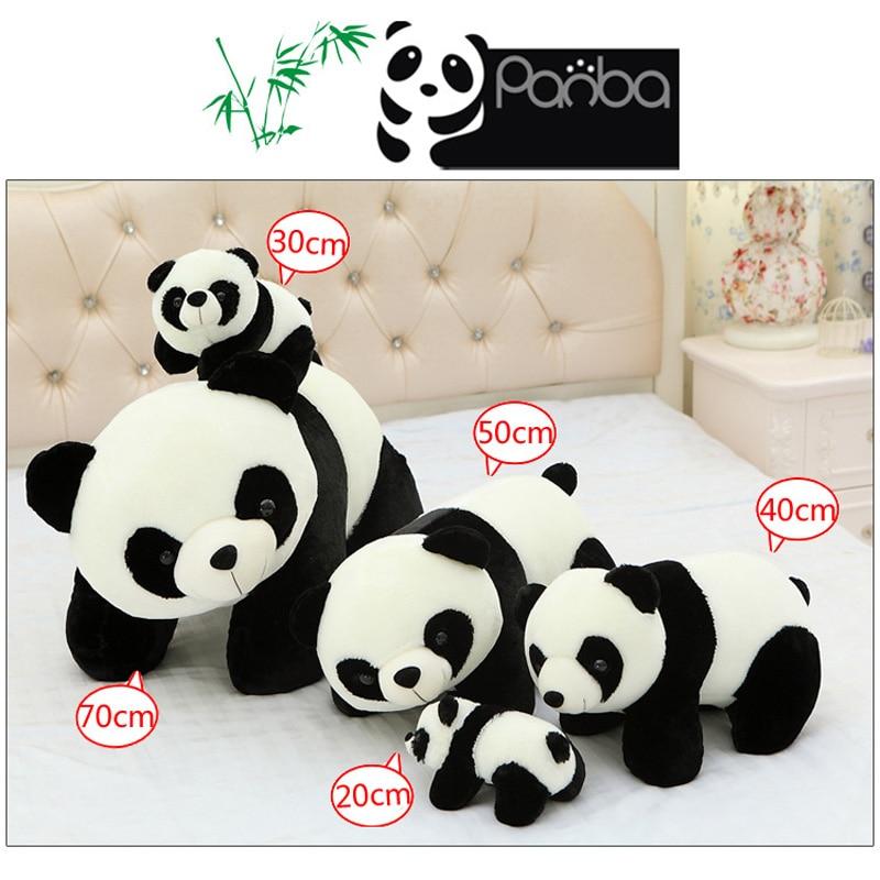 20cm--50cm Lovely Panda Plush Doll Soft Kawaii Stuffed Plush Animals Toys for children Girl Kids New Year Gifts<br><br>Aliexpress
