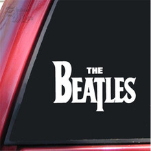 "The Beatles Die Cut Vinyl Decal Sticker for Car Window Bumper Truck Laptop Ipad Computer Skateboard Motorcycle White 6"" wide"