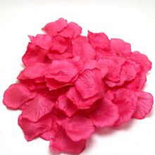 10000pcs/lot Hot Pink Rose Petals Flower Wedding Banquet Supply Decor Many Colors Celebration Hot Sale