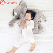 5 color big size baby crib elephant plush toy stuffed elephant pillow newborn cushion doll bedding for adults kids toys car seat