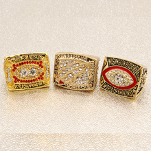 3pcs/set 1982 1987 1991 Washington Redskin championship rings  custom football championship ring  Robert Griffin RING  RG3 RING