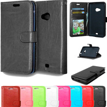 Luxury Cover For Microsoft Lumia 535 Cases Stand Flip Wallet Leather Case For Nokia Lumia 535 Skin Phone Case With Card Holder