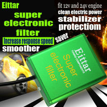 SUPER FILTER chip Car Pick Up Fuel Saver voltage Stabilizer for NISSAN March  ALL ENGINES