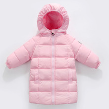 Children Down Jackets  Girls Down Coats Girl Winter Collar Hooded Outerwear Coat Childrens Thickening Jacket for girl boys