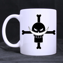 One Piece Pirate mug porcelain Coffee Mugs cups ceramic tea cup home decal White Cups gifts beer cup