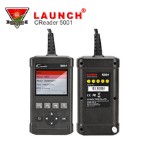 Launch CReader 5001 Code Reader Diagnostic Tool Full Functions OBD2 Scanner with O2 Sensor Test and On-board Monitor Test