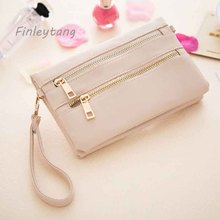 The finleytang brand pu idea large capacity waterproof bag with  wallet   Business ID Credit Card Holder  Bank Credit card