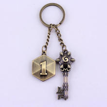 New Movies Series Hearthstone Keychain Watch Game Man and Women Keyring accessories(China)