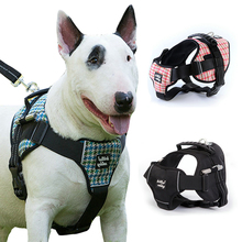 Dog Harness Collar  Pet Vest Type Traction Rope Medium large Dog Leash Walking Tool dog collar Vest pet vest
