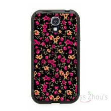 For iphone 4/4s 5/5s 5c SE 6/6s plus ipod touch 4/5/6 back skins cellphone cases cover Floral Pattern Print Flowers Trendy(China)