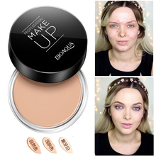 Professional Dark Skin Foundation Face Full Cover Cream Cheap Makeup Palette Face Corrector Concealer Camouflage Makeup(China)