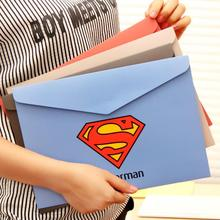 Creative American Heroes Paper File Folder Document Filing Bag Stationery Bag