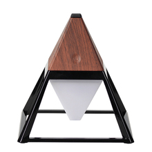 2017 modern Creative Pyramid LED Night Light USB Rechargeable LED table Light Touch Dimmable desk Lamp for home decoration