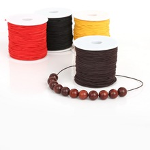 0.8mm/1.2mm/1.5mm Elastic Stretch Nylon Beading Cord Ropes for Bracelet Jewlery & Craft Making Accessories(China)