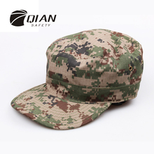 QIAN SAFETY New Hot Sale Army Camouflage Military Cap Adult Sun Visor Soldier Combat 22 types Train Tactical Hat