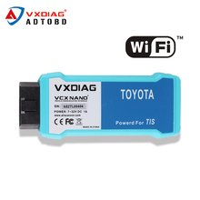 2017 VXDIAG VCX NANO for TOYOTA TIS Techstream V10.10.018 Compatible with SAE J2534 wifi version VXDIAG for Toyota Diagnostic