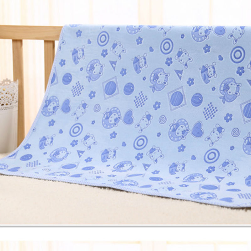 Best Quality Cotton TPU Baby Infants Waterproof Urine Mat Cover Reusable Washable Changing Pad<br>