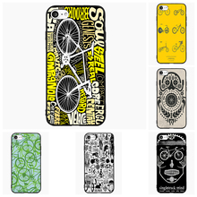 Bicycle Bike Patterns Love Bike Love Life Cell Phone Case For Samsung Galaxy A J 1 3 5 7 2016 Pro Cover Shell Accessories Gift