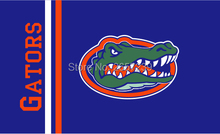 florida gators WORDMARK LOGO flag 150X90CM 100D Polyester brass grommets custom flag, Free Shipping(China)