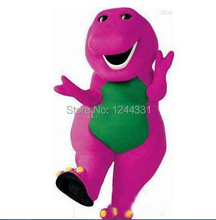 Hot selling 2015 EMS free shipping barney Character costume/Cartoon Costumes/party mascot(China)