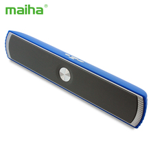 Maiha Portable Wireless Bluetooth Stereo Speaker TF AUX USB FM Radio with Built-in Mic Hands-free Good Bass HIFI Sound Speakers