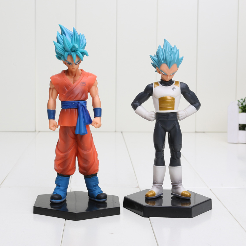 Dragon Ball Z Resurrection of F Vegeta Son Gokou Action Figure PVC Model Toy Dragonball Super Saiyan God Blue Goku Figuras<br><br>Aliexpress