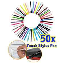 Top Sale 50pcs/pack 8.5cm Muti-color Touch Stylus Pen For Nintendo DS Lite L3EF With High Quality (Random)(China)