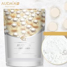 Top quality Pearl Powder Mask DIY Whitening Brighten Anti Aging Remove Acne Spots Speckle Blackhead Shrink Pores Facial Mask(China)