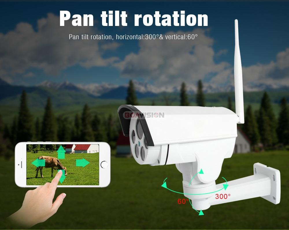 06 Wireless PTZ IP Camera