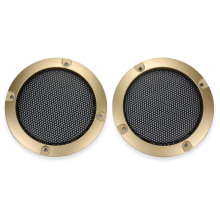 2Pcs 3Inch Speaker Net Enclosures OK Box Net Cover Car Subwoofer Network Cover Iron Net For Speaker
