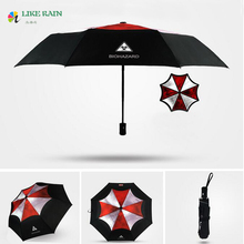 LIKE RAIN Creative Movie Resident Evil Umbrella 2017 New Fashion Man Women Anime Umbrellas Children Beach Umbrella