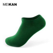 MEIKAN Women Slipper Socks Candy Color Sport Socks Summer Boat Shallow Mouth Classic Meias Black Men Brand Invisible Socks
