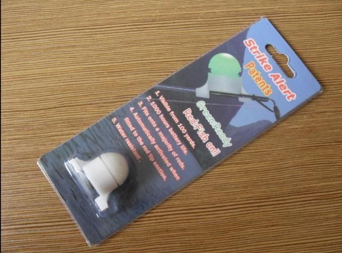 1 PC Fishing LED rod tip night light strike alert glow stick bite alarm Fishing tackle
