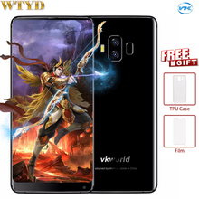 VKworld S8 4GB+64GB Dual Back Cameras Fingerprint Identification 5500mAh 5.99'' Android 7.0 MTK6750T Octa Core up to 1.5Ghz 4G(China)