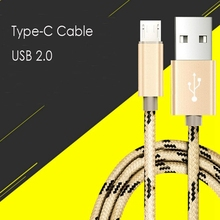 Fast Charging Type C Cable USB 2.0 Type-c Charger For Samsung Note 7 P9 Nexus 6P For Xiaomi 4c 5 For MEIZU Pro 5 6 Type C Cable