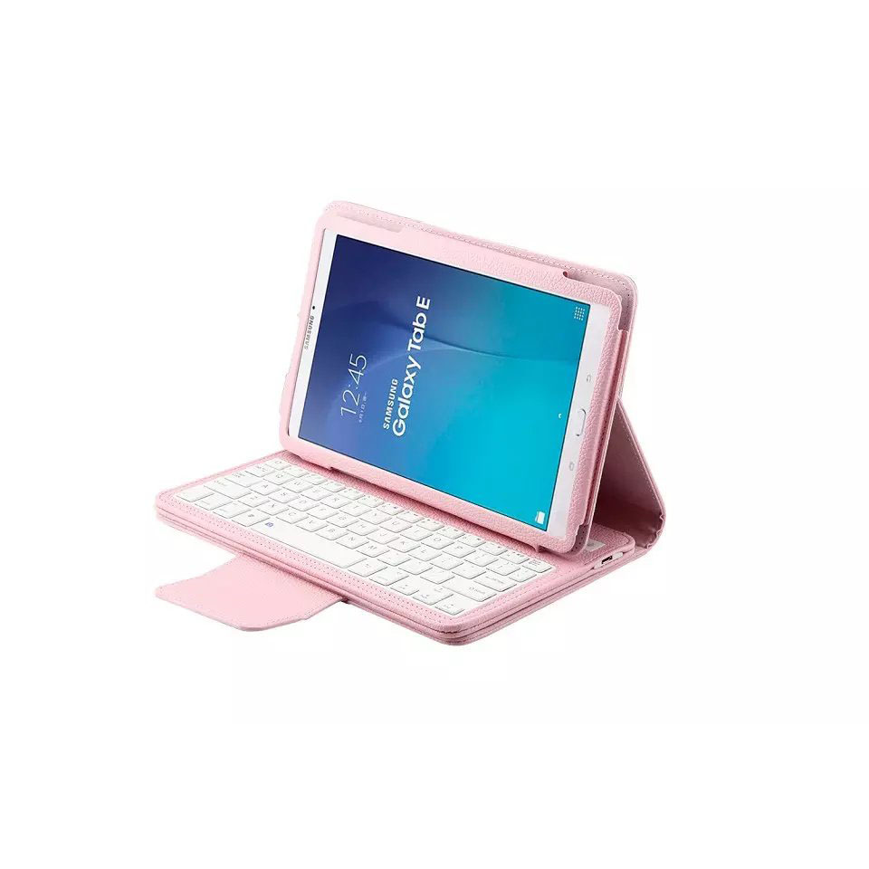For Samsung Galaxy Tab E 9.6 t560 T561 Removable Wireless Bluetooth Keyboard Case for samsung galaxy tab E SM-T560 SM-T561 cover<br>