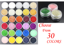 2.5g Per Pot, Nail Art Decorations Acrylic Glitters Powders For UV Nail Gel Polish Nail Tips Beauty Accessories#BNG02001~030