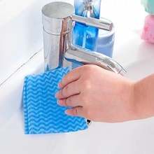 LFH 80pcs/Pack Disposable eco-friendly Non-woven Fabric Draw-out Dish Towel Oil-free Dishcloths Wipe Rugs