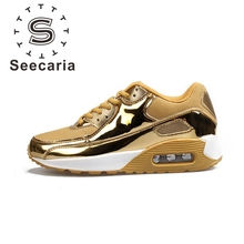 Free shipping Brand Seeracia Training Sport Running shoes wholesale athletic Zapatos MAX Men's Women's 90 Retro Mesh Sneaker