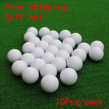 Free shipping Golf blank double-layer ball golf ball golf practice driving range(China)