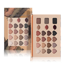 3 In 1 Eyeshadow Lipstick Eyebrow Palette Multifunction Makeup Palette Brand Eyes Lips Brows Palette Kit Professional Makeup Set(China)